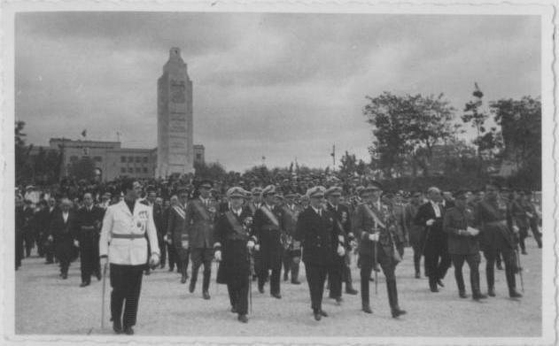 Inauguració del monument pel General Franco (1947)